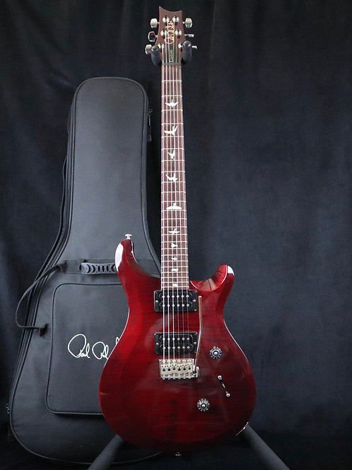 SOLD 2013 Paul Reed Smith S2 Custom 24 - Black Cherry - All Original, Case Candy