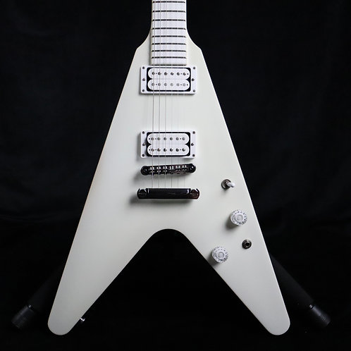 SOLD - Gibson Snow Falcon Flying V - Brendon Small Signature