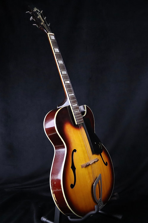 SOLD - 1962 Guild CA-100 Acoustic Archtop - Sunburst - All Original