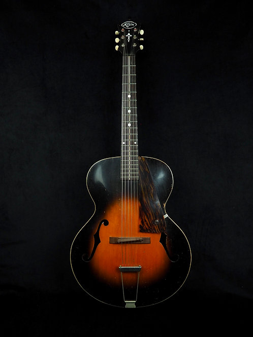 SOLD - 1936 Henry L Mason by Gibson CW-4 Sunburst