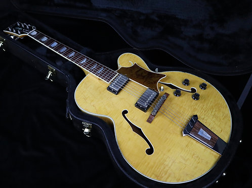 SOLD - 1993 Gibson Tal Farlow Master Model - Natural - All Original - VIDEO DEMO