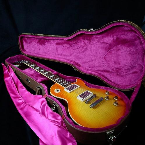 SOLD - 2001 Gibson Custom Shop Class 5 Les Paul - Tangerine Burst
