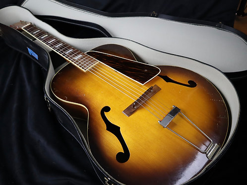 SOLD - 1939 Washburn Aristocrat 5243 Archtop - All Original - Built by Gibson