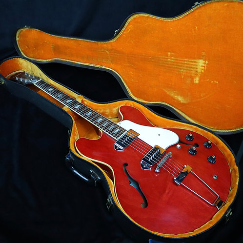 SOLD - 1967 Epiphone Casino - Cherry Red - All Original - Video Demo