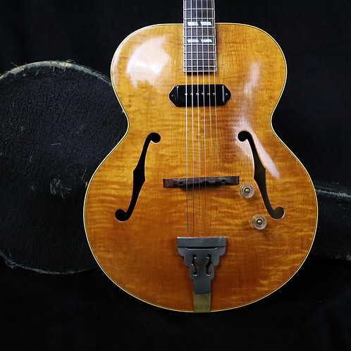 SOLD  - 1946 Gibson ES-300 - Flamed Natural Finish