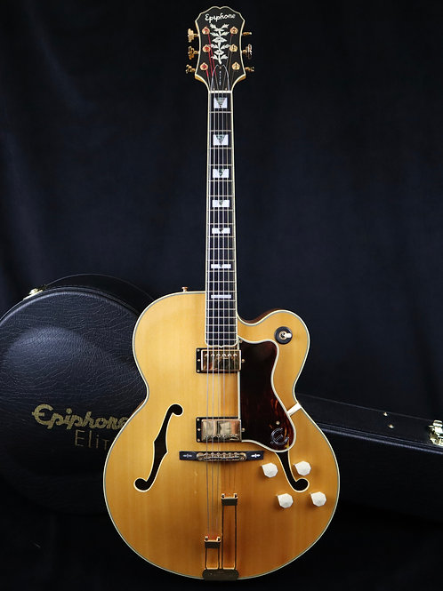 SOLD - 2006 Epiphone Elitist Broadway - Natural - All Original with OHSC