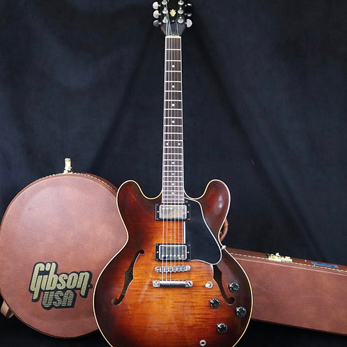 SOLD - 1982 Gibson Custom Shop ES-335 Dot Reissue - Antique Sunburst