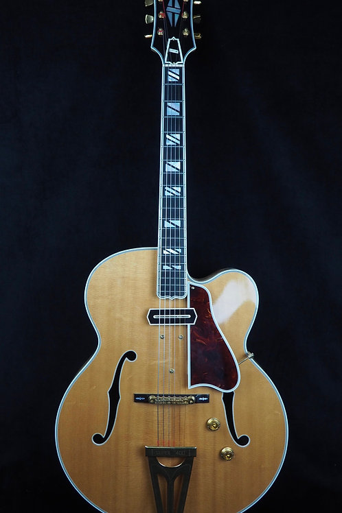 SOLD - 2002 Gibson Super 400 CC - One of six made in 2002, only one in blond