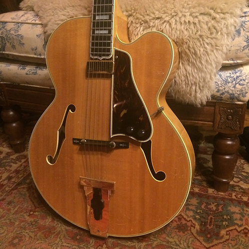 SOLD - 1977 Ibanez 2471 Archtop - Natural