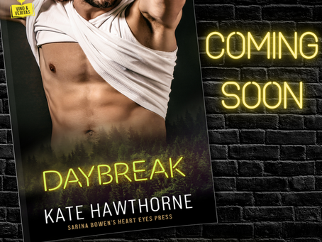 DAYBREAK - cover reveal and preorder