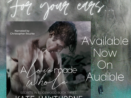 A Love Made Whole - audio out now!