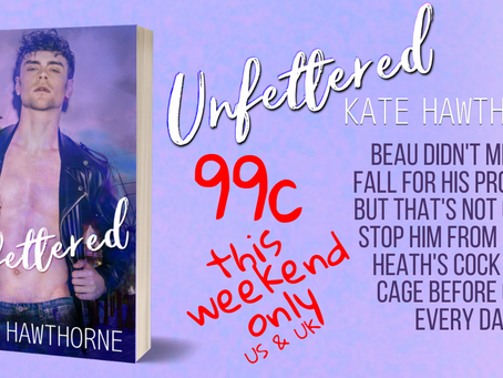 Unfettered is ON SALE!