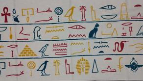 古代エジプト展フェイスタオル