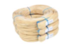 Het vlechtmateriaal is van blauwband kwaliteit