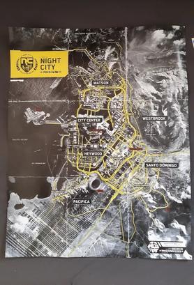 Cyberpunk 2077 Map Leaked