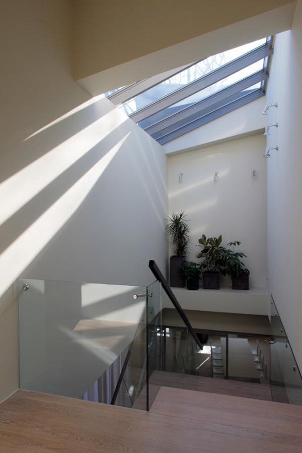 Модерн Лестница Забор