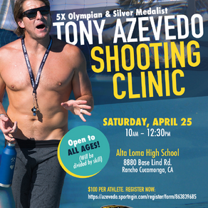 TONY AZEVEDO SHOOTING CLINIC