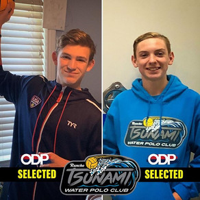 Boys ODP Selections - RTWPC's First Two Male Athletes