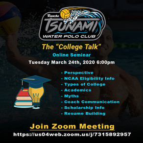 """THE COLLEGE TALK"" RTWPC ONLINE SEMINAR"
