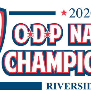 GOOD LUCK WAVES @ ODP NATIONAL CHAMPS