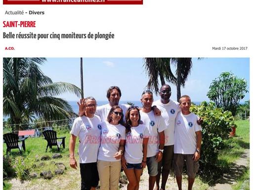 L'examen MF2 vu par France Antilles