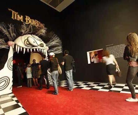Tim Burton Exhibit in Vegas