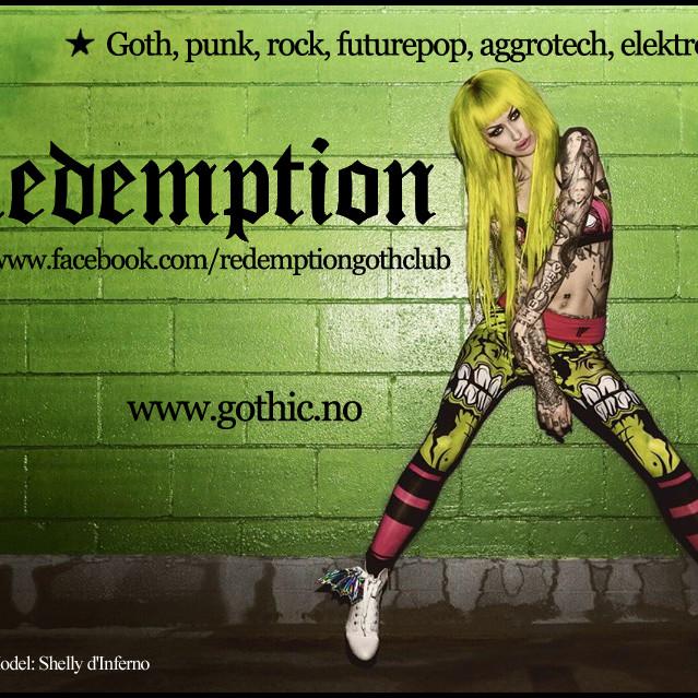 Redemption Goth Club, Saturday, June 9th, 2018