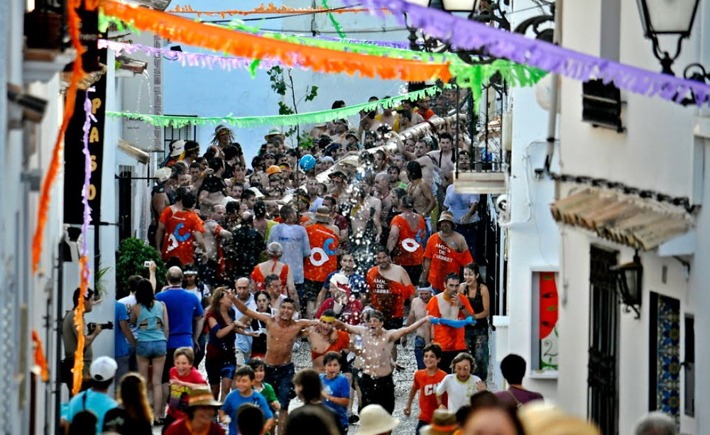 Sant Joan Festival in Altea - l'Arbret plant