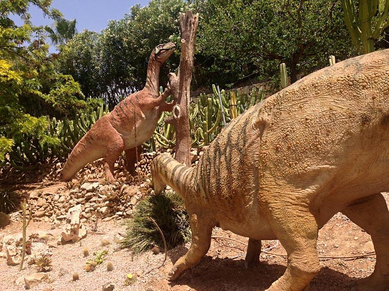 Dinosaurs from Dino Park Algar
