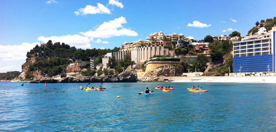Kayak for Children in Altea