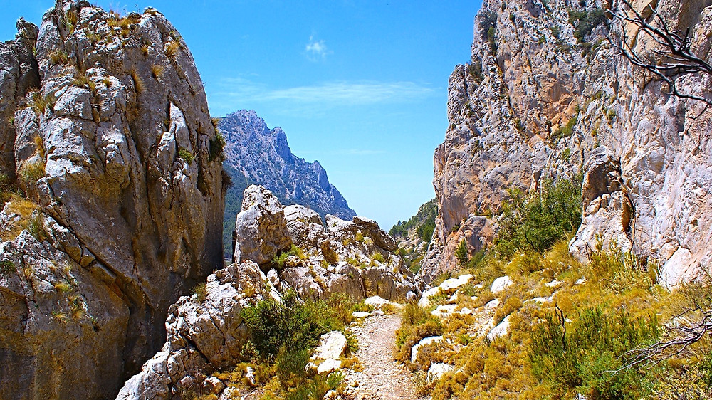 Hiking on Costa Blanca - from Pollop to Finestrat