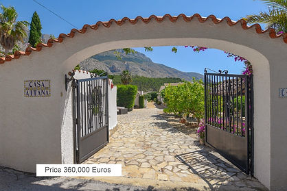 Villa for Sale Altea Costa Blanca – Try Casa Aitana before you buy IT!