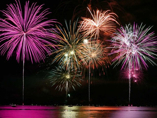 Altea El Castell de L´Olla - The largest firework display in Europe