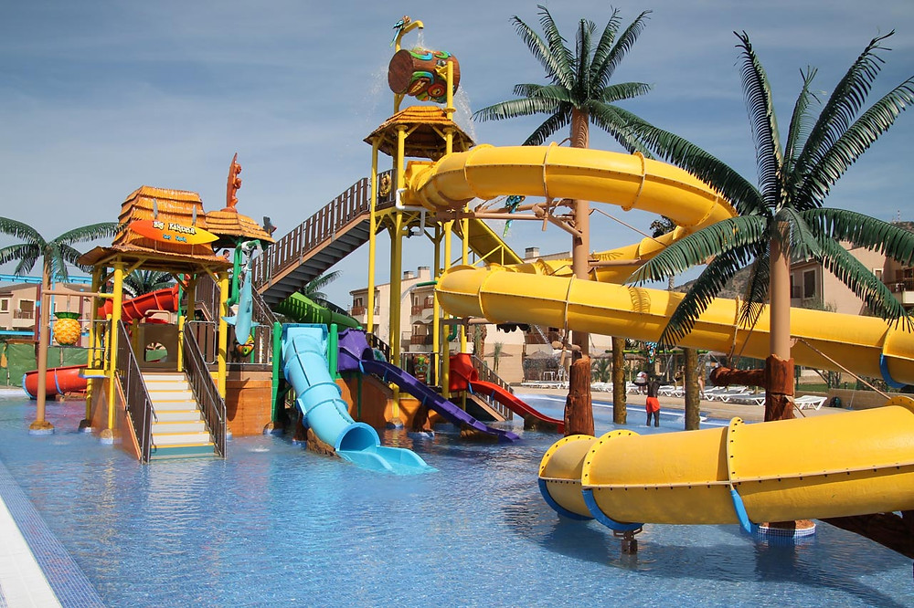 Fun Aquapark for Kids near Altea