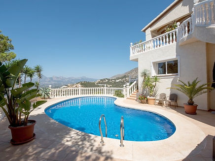 Holiday Rental in Altea - Villa Violeta