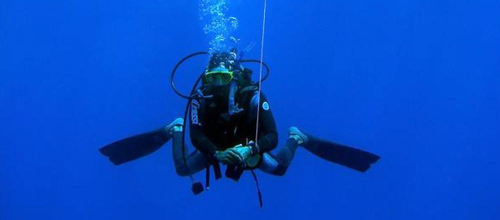 Diving in Altea