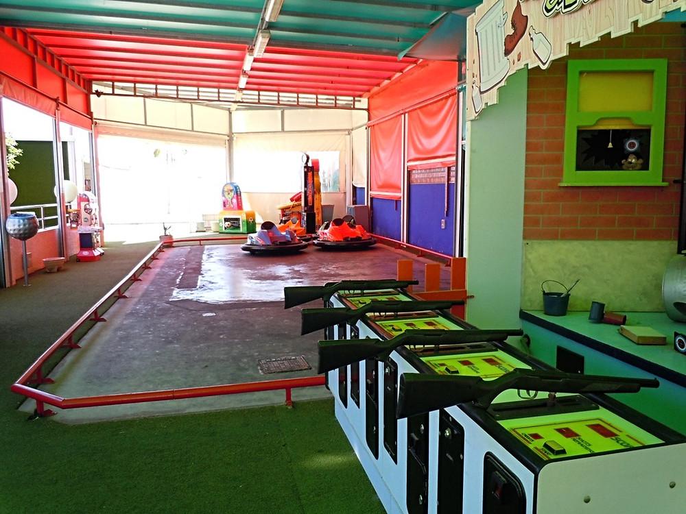 Bumper Cars and Games in Altea