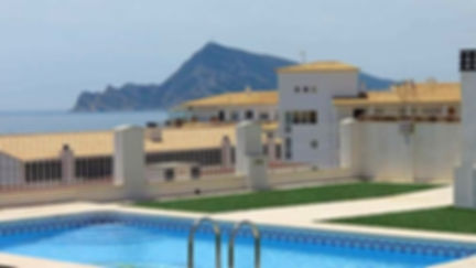 Apartment with Sea Views for rent in Altea