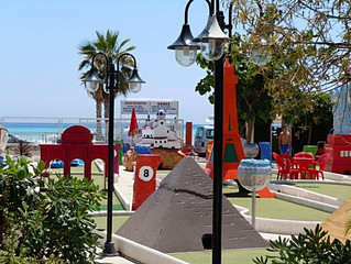 Mini Golf in Altea - Fun for Kids Games Arcade