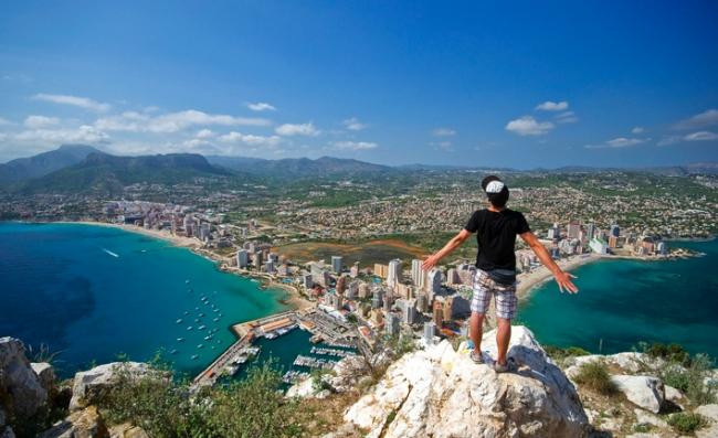 Hiking in Altea - HIKING ON CALPE ROCK
