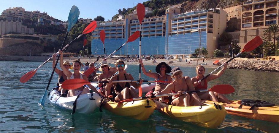 Kayak Rental in Altea