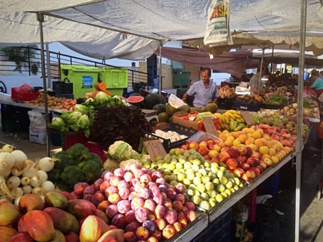 Altea Tuesday Vegetable and Fruit Market - Holiday Altea