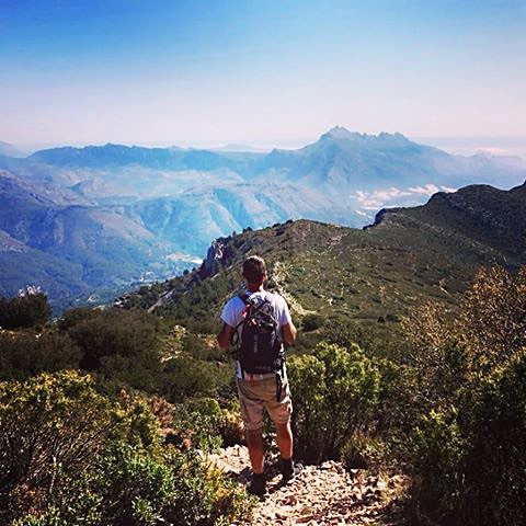 Hiking in Altea - HIKING THE AITANA, GUADALEST