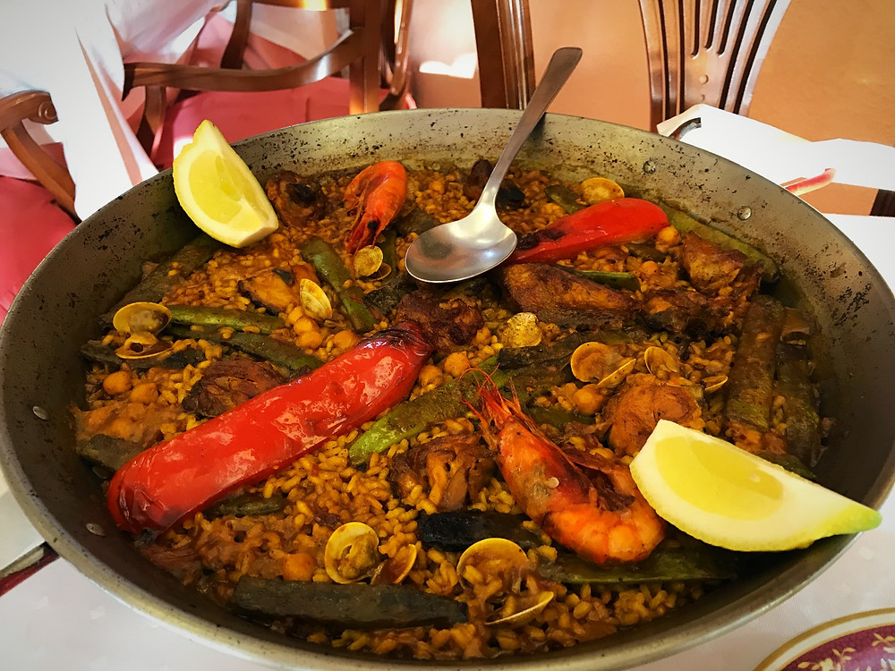 Mallol Restaurant Altea - famous for slow roasted lamb and paella