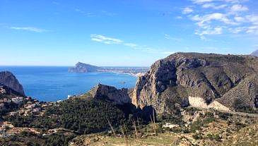 Hiking in Altea - HIKING SIERRA DE OLTA, CALPE