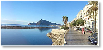 Altea Beach Promenade
