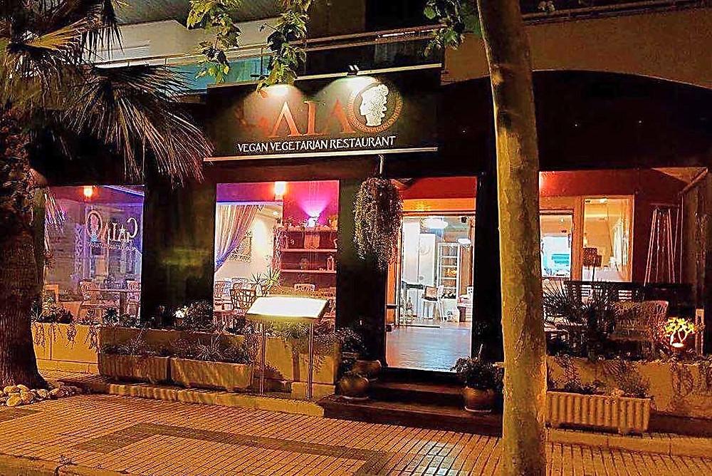 Gaia Vegan Restaurant in Albir