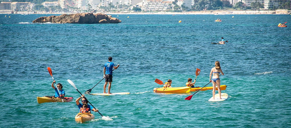 Kayak and SUP for children in Altea