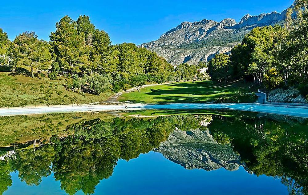 Altea Golf Club on Costa Blanca