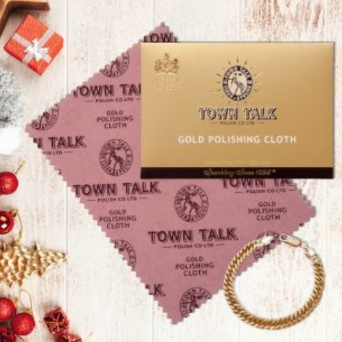 Town Talk Gold Polishing Cloth 30 x 45cm
